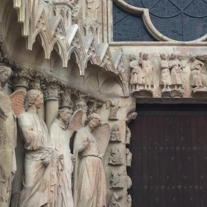 statuesReimscathedral