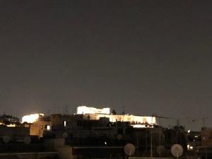 night view athens